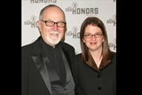 DGA Secretary/Treasurer Gil Cates and his daughter Melissa Cates. (Photo by Peter Kramer/Getty Images)