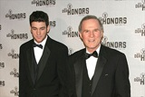 Actor/television personality Charles Grodin (L) and his son Nick.
