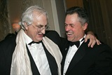 2004 DGA Honoree Directors Bertrand Tavernier and Jonathan Demme. (Photo by Evan Agostini/Getty Images)