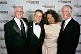 DGA VP Ed Sherin, DGA Honoree Jonathan Demme, Oprah Winfrey and DGA President Michael Apted.