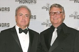 DGA Honoree Lorne Michaels and presenter Mike Nichols.