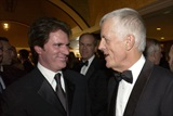 President Apted greets 2002 Feature Award winner Rob Marshall (Chicago).