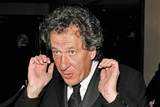 Presenter Geoffrey Rush.