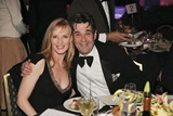 SAG President Alan Rosenberg and his wife, actress Marg Helgenberger.