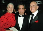 Actress Jane Alexander, Roth and DGA Board member Ed Sherin.