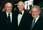 MPAA CEO Dan Glickman, Michael Apted and AMPAS President Sid Ganis.