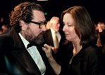 Feature film nominee Julian Schnabel and producer Kathleen Kennedy.