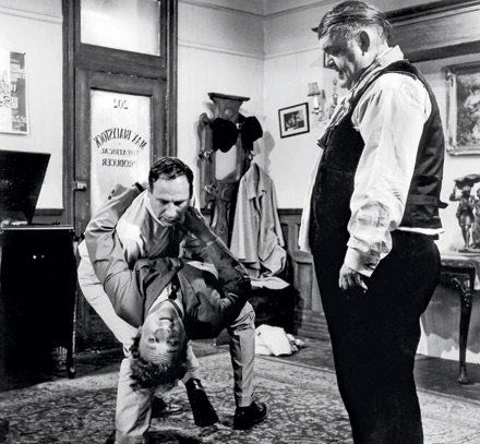 Mel Brooks directing The Producers