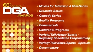 68th Awards TV Documentary Commercials Nominees