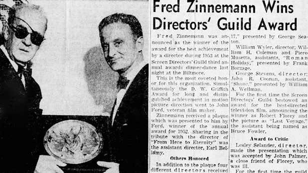 6th Annual Awards - Fred Zinnemann