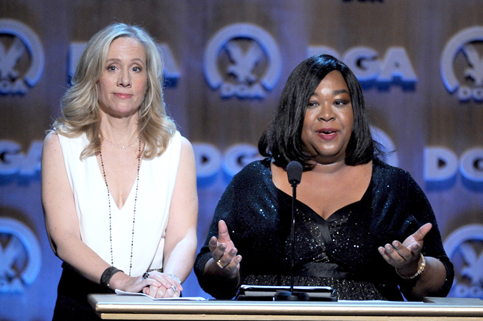 Betsy Beers and Shonda Rhimes