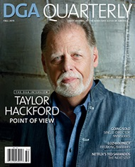 DGA Quarterly Magazine Fall 2015 Taylor Hackford