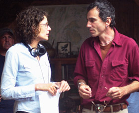 Rebecca Miller and Daniel Day-Lewis